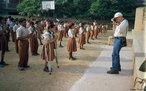 Crianças em escola indiana