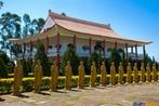 Detalhe de Templo Budista em Foz do Iguaçu