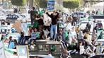 Imagens de protestos na L�bia. <br/> <br/> Palavras-chave: manifesta��es populares, protestos, conflitos sociais.
