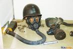 M�scara anti-gaz � utilizada pelo Ex�rcito brasileiro e norte americano durante a II Grande Guerra. <br/> <br/> Palavras-chave: segunda guerra, m�scara de g�z, museu do expedicion�rio, Multimeios.