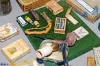 Objetos de oficiais � Cachimbo, f�sforos e aparelho de barbear utilizados por oficiais brasileiros durante a II Grande Guerra. <br/> <br/> Palavras-chave: segunda guerra, poder, ideologia, pol�tica, museu do expedicion�rio, oficiais brasileiros, Multimeios.