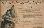 Cartaz do c�rculo nacional do soldado. <br/> <br/> Palavras-chave: imperialismo, poder, ideologia, guerra mundial, m�dia, coer��o, manipula��o midi�tica, analfabetismo midi�tico.