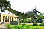 Fotografia de um Ca�a Thunderbirth no Museu do Expedicion�rio em Curitiba-Pr. Este modelo de avi�o de guerra, produzido pelos norte americanos, foi utilizado pela Fab - For�a A�rea Brasileira, na Segunda Guerra Mundial. <br/> <br/> Palavras-chave: segunda guerra mundial, museu do expedicion�rio, poder, ideologia, guerra, nazistas, nazismo, Fab,