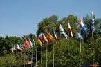 Bandeiras de pa�ses. <br/> <br/> Palavras-chave: Na��es, pa�ses, globaliza��o, poder, pol�tica, Estados Nacionais.