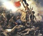Revolu��o Francesa � o nome dado ao conjunto de acontecimentos que, entre 5 de Maio de 1789 e 9 de Novembro de 1799, alteraram o quadro pol�tico e social da Fran�a. Em causa estavam o Antigo Regime e a autoridade do clero e da nobreza. Foi influenciada pelos ideais do Iluminismo e da Independ�ncia Americana (1776). A Revolu��o � considerada como o acontecimento que deu in�cio � Idade Contempor�nea. Aboliu a servid�o e os direitos feudais na Fran�a e proclamou os princ�pios universais de &quot;Liberdade, Igualdade e Fraternidade&quot; (Libert�, Egalit�, Fraternit�), frase de autoria de Jean-Nicolas Pache.. A Liberdade Guiando o Povo, por Eug�ne Delacroix <br/> <br/> Palavras-chave: Revolu��o Francesa, direitos universais, revolu��o, Sociologia, poder, pol�tica, ideologia