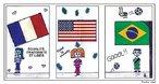 Essa charge � resultado da Oficina EDUHQ e trata da aliena��o. <br/> <br/> Palavras-chave: aliena��o, futebol, Brasil, Fran�a, Estados Unidos da Am�rica.