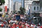 Paralisação de servidores municipais em Curitiba 2009 <br/> <br/> Palavras-chave: Servidor público, movimentos sociais, greve, Curitiba, sindicato, direitos, cidadania, políticas públicas, trabalho, produção, classes sociais, política.