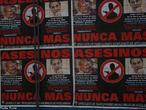 Cartaz argentino contra a impunidade em relação à assassinatos por motivações políticas. <br/> <br/> Palavras-chave: direito, cidadania, movimentos sociais.